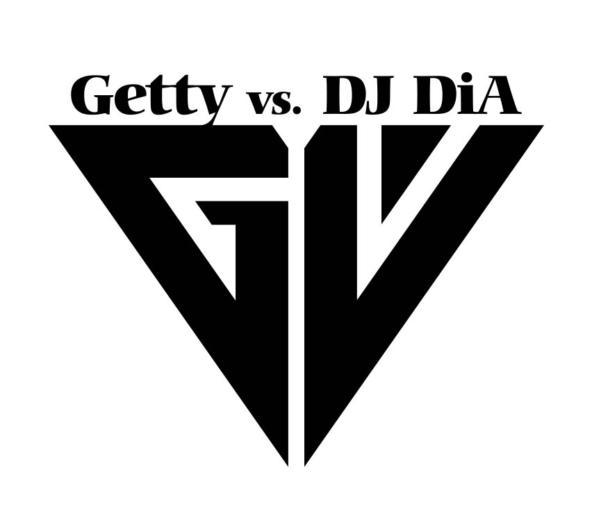 Getty vs. DJ DiA シンボルロゴデザイン